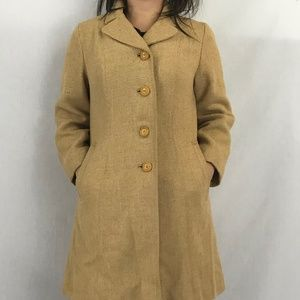 50s Vintage Ken Whitmore Tweed Coat